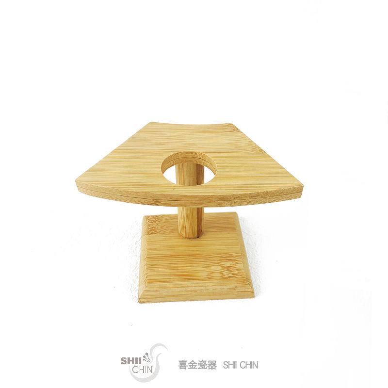 竹製手捲架1孔