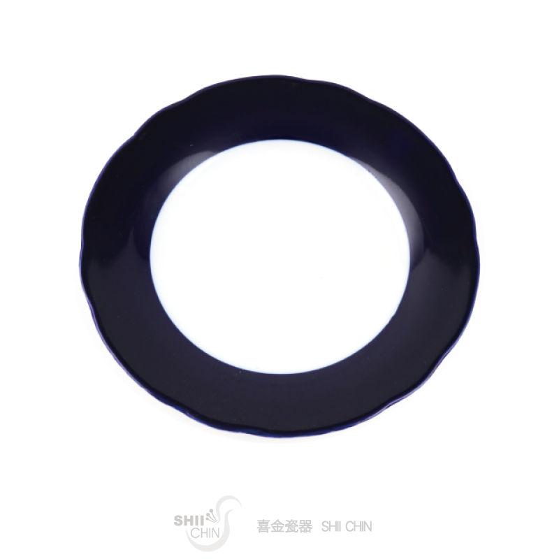 藍寶釉1-10  8吋平盤