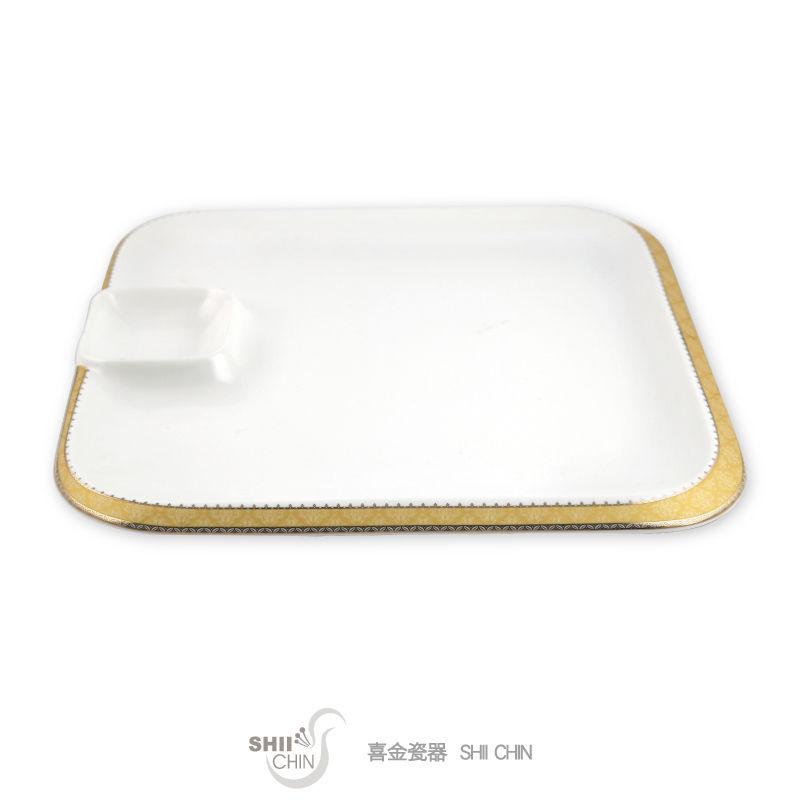 皇冠系列-14吋正方子母盤