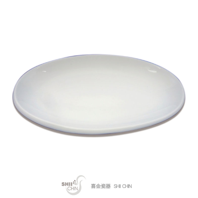 18吋厚邊魚盤