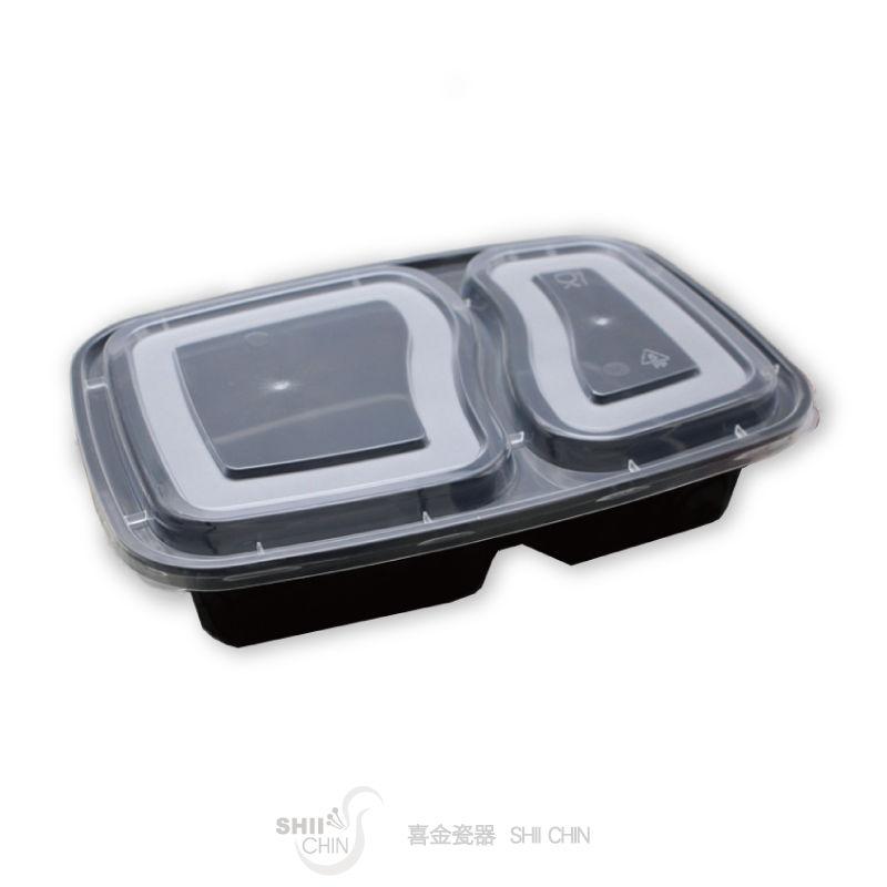 2815雙格美式方盒-黑